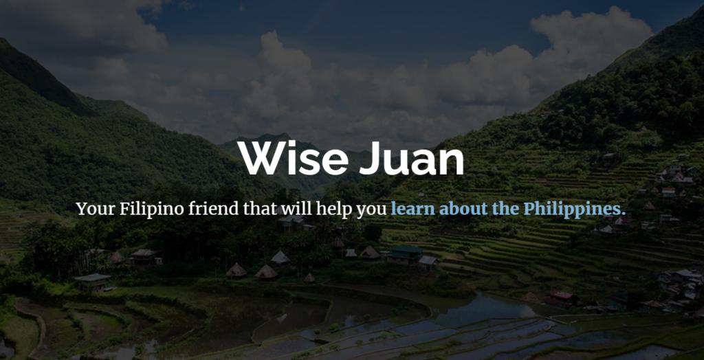 Wisejuan loves Philippines